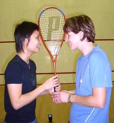 Rebecca Chiu winth Carol Owens