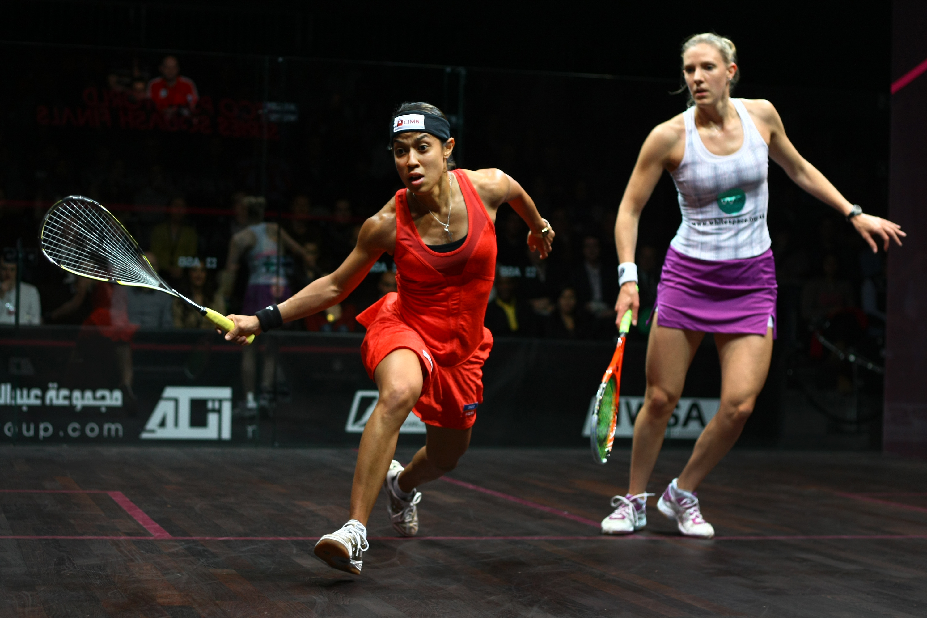 Nicol David vs Natalie Grinham